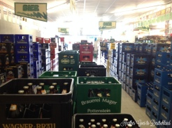 Two beer aisles