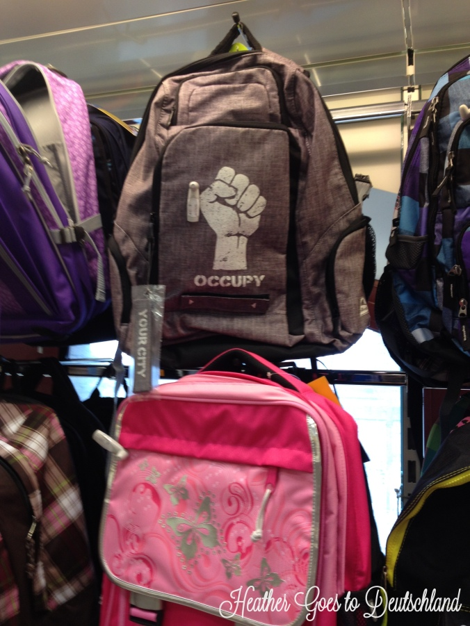 occupy backpacks