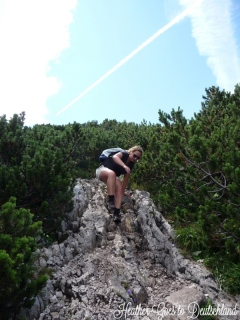 Awkward climbing is a requisite