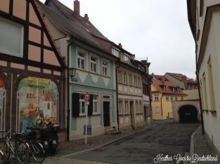 Bamberg streets.