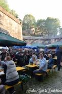 Nbg bierfest, in a moat!