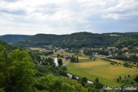 View over the Franconian Switzerland.