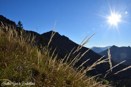 Last hike on the Hochries.