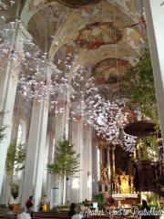 Munich church + art.