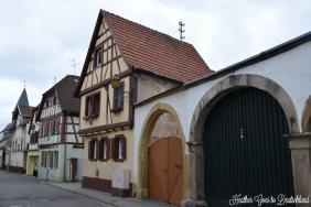 Village streets near Neustadt an der Weinstrasse.
