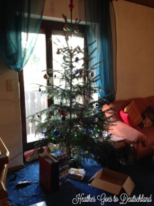 Our wee tree.