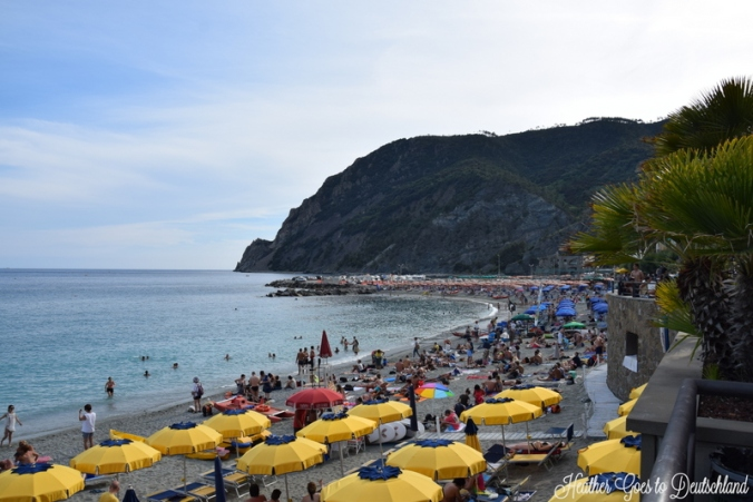 Monterosso's beach in New Town