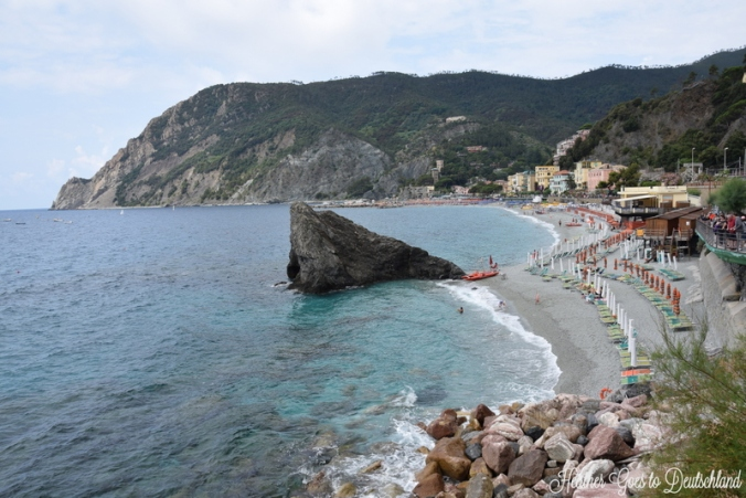 The most-photographed rock in Monterosso al Mare.