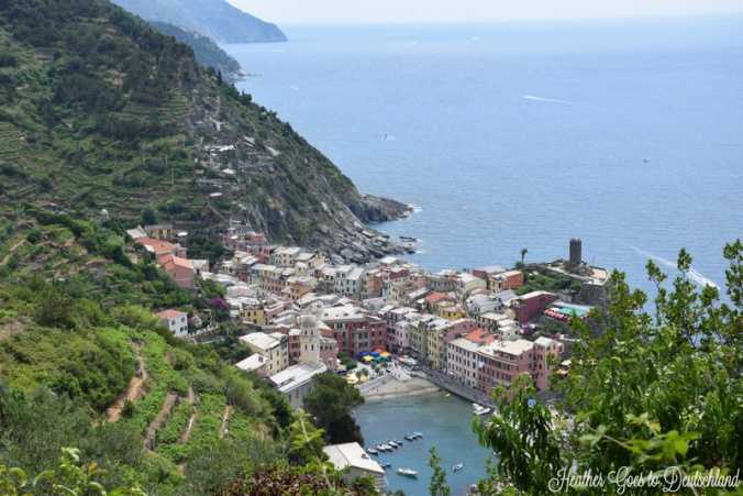 vernazza overlook