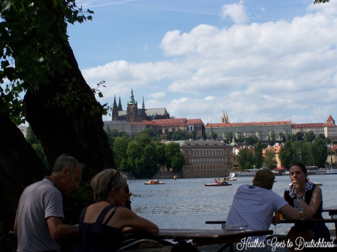 There are few bad views in Prague.