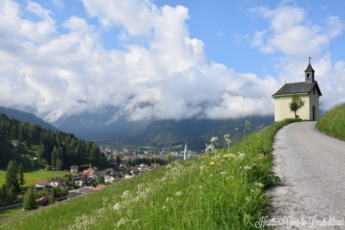 Chapel over Toblach/Dobbiaco.