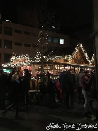 At the Nbg Christkindlesmarkt